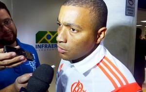 Desembarque Flamengo - Anderson Pico (Foto: Cahê Mota)