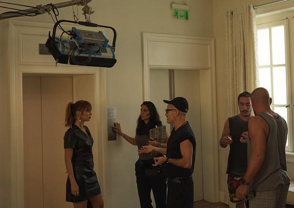 """Backstage de """"Oitavo"""" (Foto: Divulgação)"""
