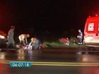 Ciclistas são atropelados e motorista foge sem prestar socorro em MS