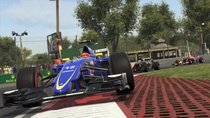 F1 2015 exibe belos gráficos no GP de Montreal (Foto: Divulgação)