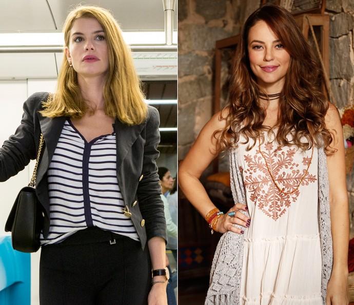 Lívia e Melissa esbanjam estilo em 'Além do Tempo' (Foto: Estevam Avellar/TV Globo/Raphael Dias/Gshow)