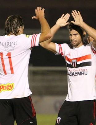 Diogo Campos Botafogo-SP Guaratinguetá (Foto: Thiago Calil / Agência Botafogo)