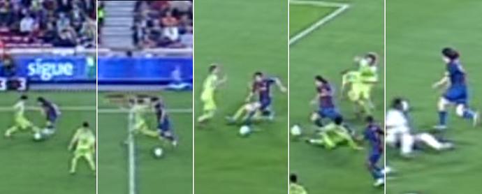 """BLOG: Golaço """"Maradoniano"""" de Messi completa 10 anos. Relembre o lance!"""