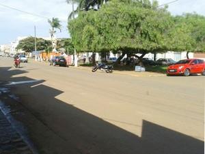 Moradores do Centro de Martinho Campos sentiram o tremor (Foto: Natalia Queiroz/Arquivo Pessoal)
