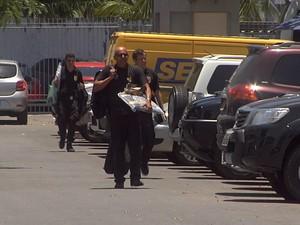 As buscas fazem parte da segunda fase da Operação Expresso (Foto: Leandro Silva/TV Verdes Mares)