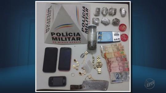 Polícia apreende dois menores suspeitos de tráfico de drogas em MG