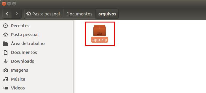 Apagando um arquivo no ambiente gráfico do Linux (Foto: Reprodução/Edivaldo Brito)
