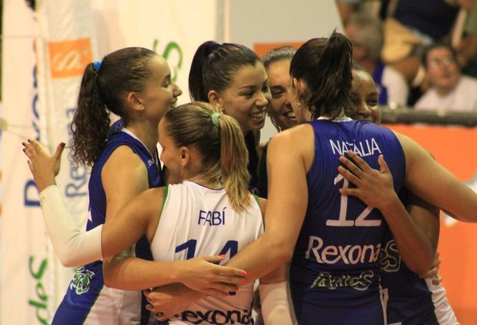 Rio de Janeiro x Osasco - Superliga feminina de vôlei (Foto: Thierry Gozzer)