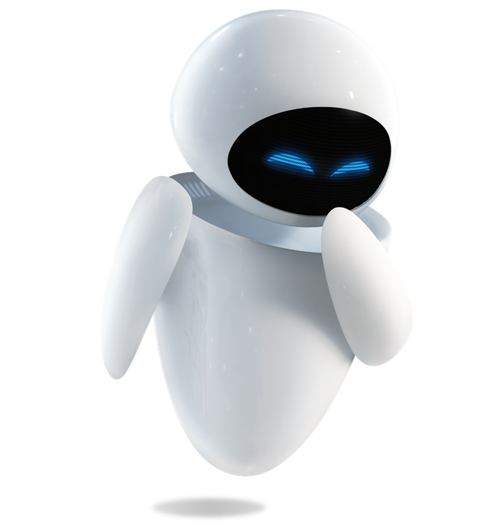 O Jibo tem aparência semelhante à de Eva, da animação Wall-E (Foto: Divulgação/ Pixar)