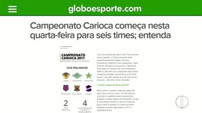 Confira o manual da nova fórmula do Campeonato Carioca