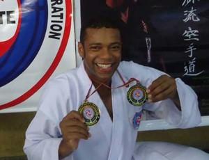 Atleta foi campeão no Mundialito, que ocorreu na Venezuela (Foto: Reginaldo Damião/ Arquivo Pessoal)