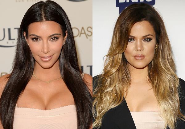 Kim & Khloe Kardashian (Foto: Divulgação)