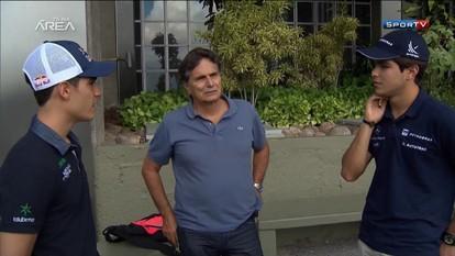 Sérgio Sette Câmara e Pedro Piquet, da fórmula 3, sonham com a Fórmula 1