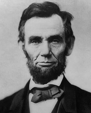 O ex-presidente dos EUA Abraham Lincoln em imagem de arquivo (Foto: AFP PHOTO/HO)
