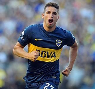 Calleri, Boca Juniors x Independiente (Foto: Prensa Boca Juniors / Javier García Martino)