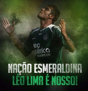 Goiás anuncia volta de Léo Lima (Foto: Divulgação / Goiás E. C.)
