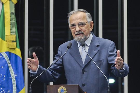 O senador João Capiberibe (PSB-AP) (Foto: Geraldo Magela/Agência Senado)
