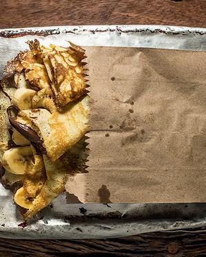 Crepe de nutella e banana (Foto: Ricardo Correa/Casa e Jardim)