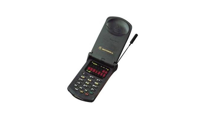 Motorola Star Tac foi um celular de flip clássico e que vendeu 60 milhões de unidades (Foto: Divulgação/Motorola)