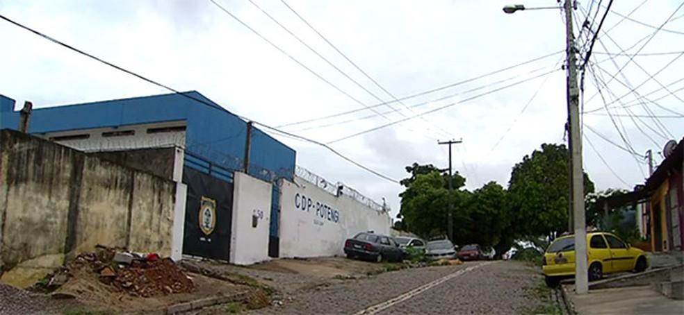 CDP do Potengi, na Zona Norte de Natal (Foto: Reprodução/Inter TV Cabugi)