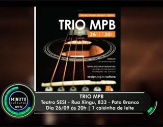 Trio de MPB em Foz do Iguaçu (Foto: Reprodução/ RPC TV)