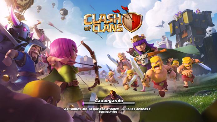 Como atacar em Clash of Clans (Foto: Reprodução/Felipe Vinha)