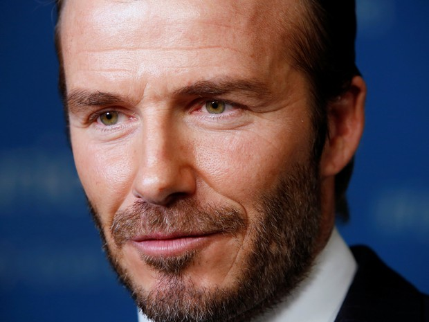 David Beckham em evento em Nova York, nos Estados Unidos (Foto: Andrew Kelly/ Reuters)