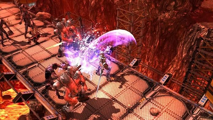 Implosion parece um jogo para Playstation 3 ou Xbox 360 (Foto: Divulgação)