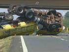 Acidentes com veículos pesados preocupam nas estradas da região