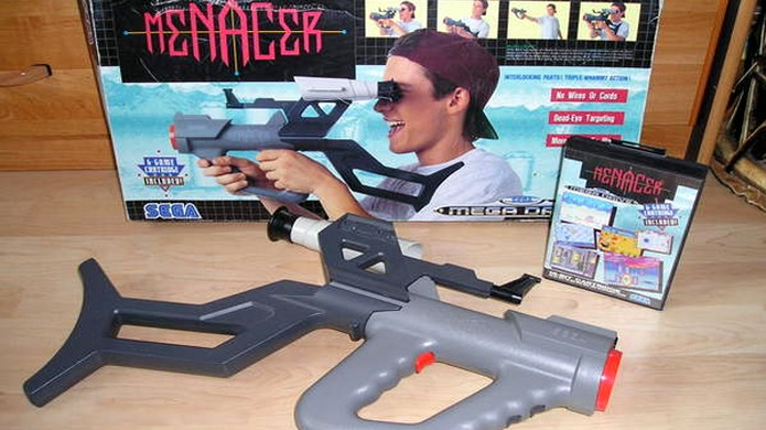 A pistola Menacer não recebeu muitos jogos no Mega Drive (Foto: 3DJuegos) (Foto: A pistola Menacer não recebeu muitos jogos no Mega Drive (Foto: 3DJuegos))