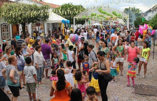 Carnaval em Pirenópolis Goiás (Foto: Divulgação/Secretaria de Turismo)