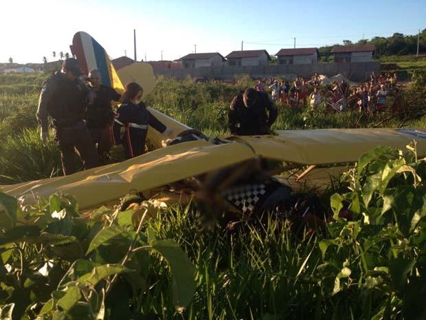Dois ocupantes morreram na hora (Foto: Divulgação/Polícia Militar do RN)