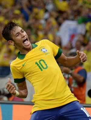 Neymar BRasil copa das confederações 19/06/2013 (Foto: André Durão / Globoesporte.com)