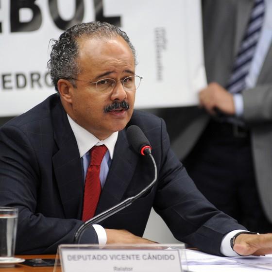 Vicente Cândido (Foto: Leonardo Prado/Câmara dos Deputados)