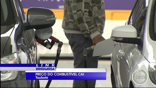 Preço do combustível cai em São José e Taubaté