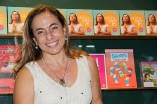 Cissa Guimarães lança livro no Rio (Foto: Alex Palarea / AgNews)