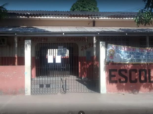 escola, serafini costaperaria, furto, roubo, Macapá, Amapá (Foto: Reprodução/ Google)