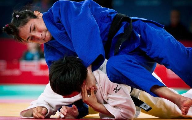 paralimpíadas judô Karla Ferreira (Foto: Fernando Maia / CPB)