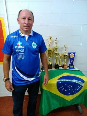 Aos 47 anos, Alcindo estava fora do futebol profissional desde 2000 (Foto: Christian Rizzi / Foz Cataratas / Divulgação)