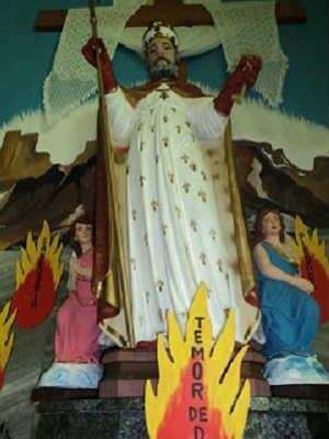 São Pedro Apóstolo em Pequeri, MG (Foto: Paróquia São Pedro Apóstolo / Divulgação)