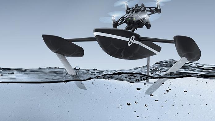 Parrot Hydrofoil permite movimentos ágeis na superfície (Foto: Divulgação/Parrot)
