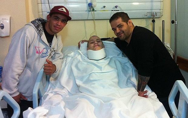 Wesley Marques, Gabriel Diniz e Fabiano Lemos (Foto: Fabiano Lemos)