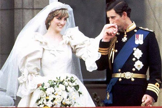 O casamento de Charles e Diana; conto de fadas terminaria de forma trágica (Foto: Reprodução)
