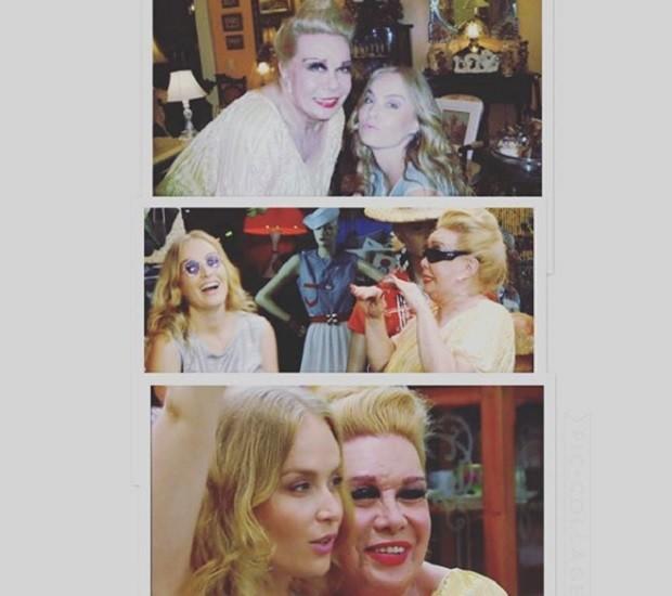 Angelica e Rogeria (Foto: Instagram)