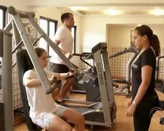 Cuidados com os exercícios (Foto: Reprodução: RJTV 1ª Edição)