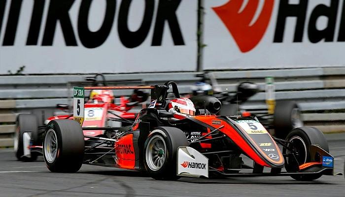 Pedro Piquet chega em segundo na etapa de Norisring da F3 Europeiaa
