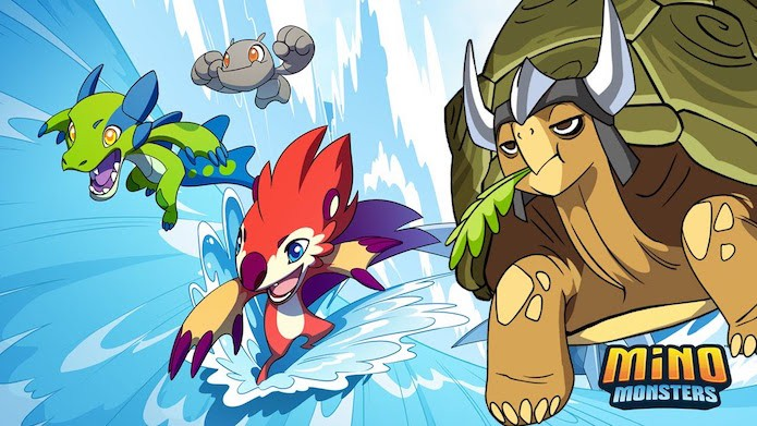 Conheça os melhores clones de Pokémon para Android e IOS (Foto: Divulgação/Mino Games)