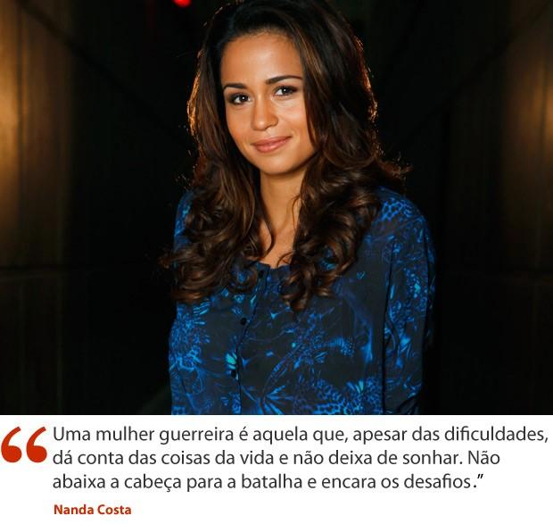 Nanda Costa (Foto: Salve Jorge/TV Globo)