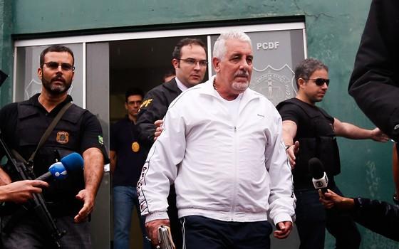 Henrique Pizzolato,ex-diretor de marketing do Banco do Brasil a cumprir pena em regime semiaberto (Foto:  Pedro Ladeira/Folhapress)