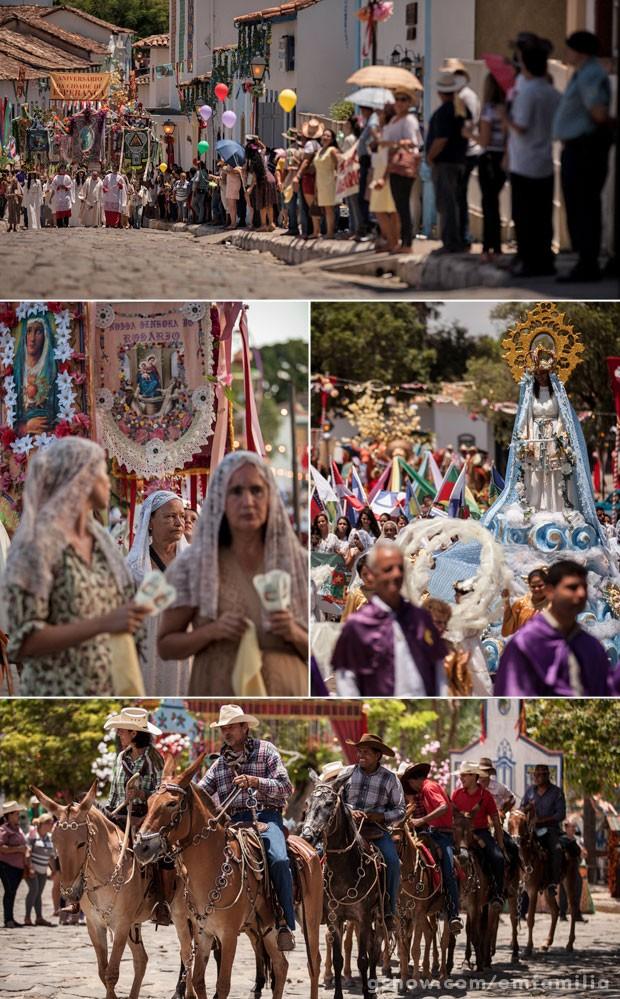 Elementos da cultura local foram integrados ao trabalho de arte e cenografia (Foto: Inácio Moraes / TV Globo)